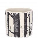 Ceramic bucket resin D7cm, H6,5cm, for TO6, black